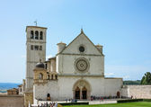 Assisi, Basilica Saint Francis, Italy — Stock Photo