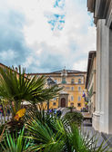 The Apostolic Palace of Castel Gandolfo, near Rome, Italy — Stock Photo