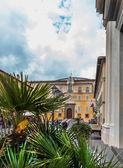 The Apostolic Palace of Castel Gandolfo, near Rome, Italy — Stock Photo