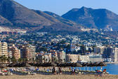 Fuengirola holiday resort in southern Spain — Stock Photo