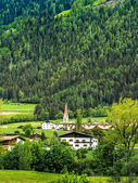 Green landscape in Tyrol, Italy — Stock Photo