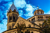 Saint Martin church in Cologne, Germany — Stock Photo