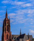 Cathedral in Frankfort on Main, Germany — Stock Photo