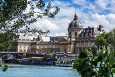 Paris, The Institut de France, Academy of Sciences — Stock Photo