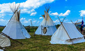 Indian Tepee Tent — 图库照片