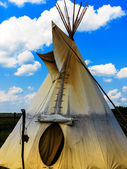 Indian Tepee Tent — Stock Photo