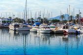 The Port of Saint Cyprien, Southern France — Stockfoto