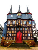 Townhall with 10 Towers in Frankenberg Eder, Germany — Stock Photo