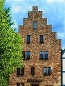 The Steinhaus in medieval Frankenberg Eder, Germany. Built in 1240 — Stock Photo