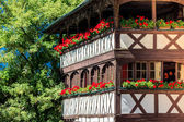 Old framework house in Strasbourg, France — Stock Photo