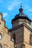 Ancient protestant church of Alsfeld, Germany — Stock Photo