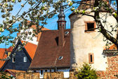 Fortification tower in Buedingen, Germany. — Stock Photo