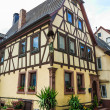 Half timbered house in Lohr am Main in Spessart Mountains, Germany — Stock Photo #46498059