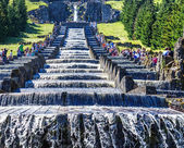 The Hercules monument is an important landmark in the German city of Kassel. — Stock Photo