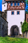 Main Gate of the city wall at the banks of the Main in Hanau-Steinheim, Germany — Stock Photo