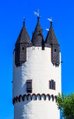 Donjon tower in Castle Park of Hanau-Steinheim, Germany — Stock Photo
