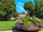 Castle Garden in Fulda, Germany — Stock Photo