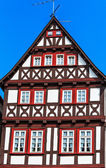 Colorful half-timbered house in Alsfeld, Germany — Stock Photo