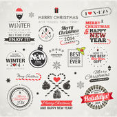 Christmas vector collection. — Stock Vector