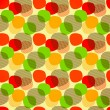 seamless pattern with circles — Stok Vektör