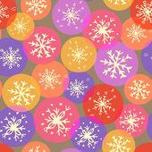 Sömlös vektor jul konsistens. — Stockvektor