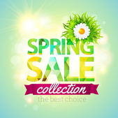Spring Sale collection. — Stock Vector