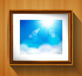 Picture frame — Stock Vector