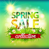 Spring Sale collection — Stock Vector