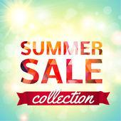 Sommer-sale-kollektion — Stockvektor