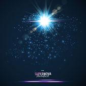 Stardust background — Stock Vector