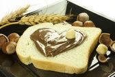 Chocolate cream — Stock Photo