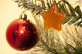 Christmas decorations — Foto Stock