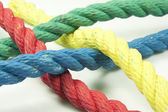 Colored ropes — Stock Photo