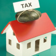 Tax home — Stock Photo