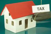 Tax home — Stock Photo