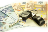 Maintenance costs of a car — Stock Photo