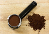 Prepare espresso — Stok fotoğraf