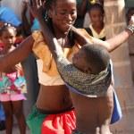 Постер, плакат: Jamaican Street Performer