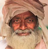 Indian rickshaw owner — Zdjęcie stockowe