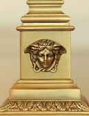 Medusa Decorative Metal Carving — Stock Photo