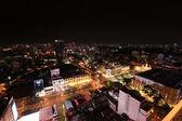 Ho Chi Minh City Skyline at Night — Stockfoto