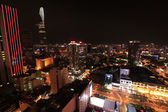 Ho Chi Minh City Skyline at Night — Stock Photo