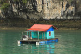 Floating Village — Stock Photo