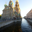 Russia Saint Petersburg Church of Our Saviour on Spilled Blood — Stock Photo