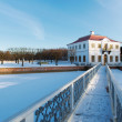 Peterhof Park in the winter time. Russia — Stock Photo