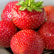 Stock Photo: Few strawberries