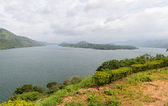 Sri Lanka. Different views of the lake. natural landscape — Stock Photo