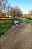 The urban landscape of the park. Indian summer — Stock Photo