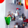 Bar and coctail — Stock Photo