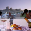 Dinner in Bodrum - Stock Photo